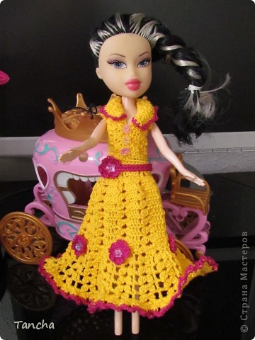 Ажурное платье для принцессы фото 1