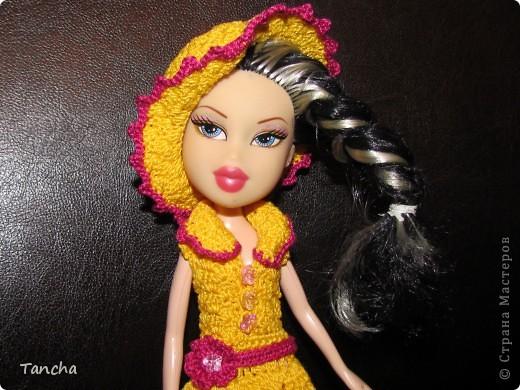 Ажурное платье для принцессы фото 4