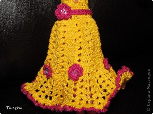 Ажурное платье для принцессы фото 5