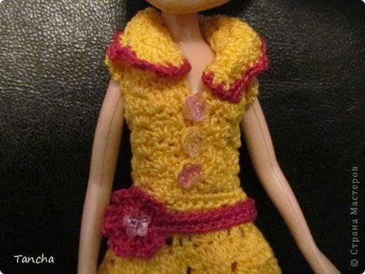Ажурное платье для принцессы фото 3