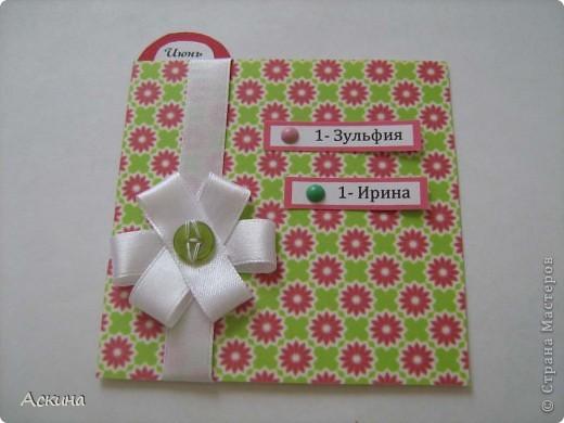 Этот календарик сделала еще в феврале,увидев эту работу http://www.liveinternet.ru/users/2715574/post119060424/  фото 14