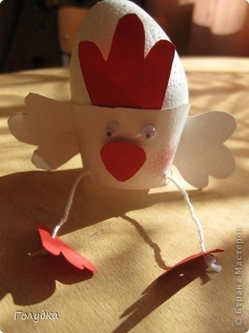 Сегодня с первоклассниками мы делали подставку для яйца на Пасху. фото 3
