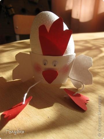 Сегодня с первоклассниками мы делали подставку для яйца на Пасху. фото 4