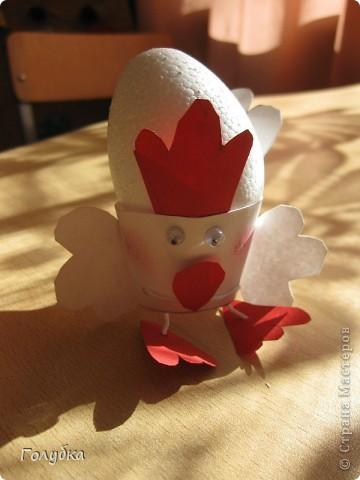 Сегодня с первоклассниками мы делали подставку для яйца на Пасху. фото 5