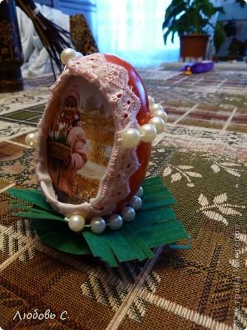 Поделки к празднику Пасхи в детский сад. Кулич - из соленого теста. фото 3