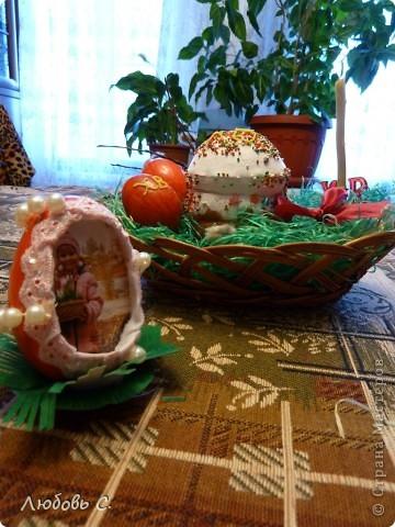 Поделки к празднику Пасхи в детский сад. Кулич - из соленого теста.