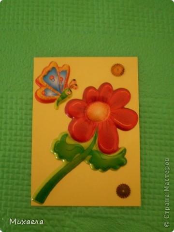 """Моя первая серия АТС. Эта серия называется """"Весенние бабочки"""".Закрыта фото 3"""