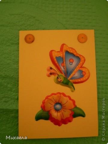 """Моя первая серия АТС. Эта серия называется """"Весенние бабочки"""".Закрыта фото 6"""