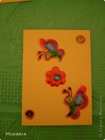 """Моя первая серия АТС. Эта серия называется """"Весенние бабочки"""".Закрыта фото 7"""
