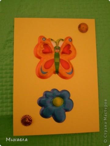 """Моя первая серия АТС. Эта серия называется """"Весенние бабочки"""".Закрыта фото 9"""