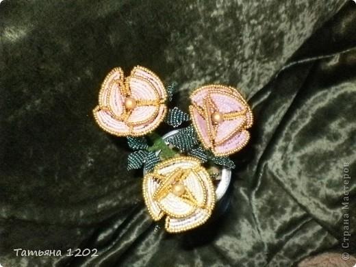 Срочно на день рождения были сделаны эти розы. фото 3