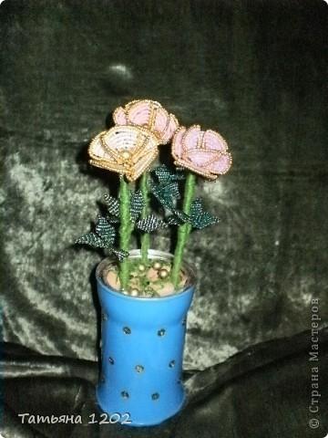 Срочно на день рождения были сделаны эти розы. фото 1