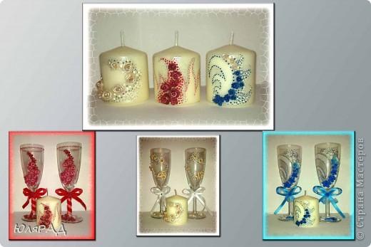 Мои запоздалые свечи к наборам)))) фото 1
