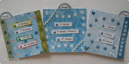 Этот календарик сделала еще в феврале,увидев эту работу http://www.liveinternet.ru/users/2715574/post119060424/  фото 8