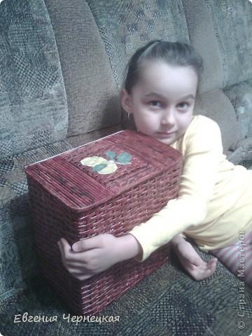 Вот такая коробочка у нас получилась! фото 1