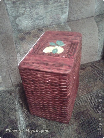 Вот такая коробочка у нас получилась! фото 2