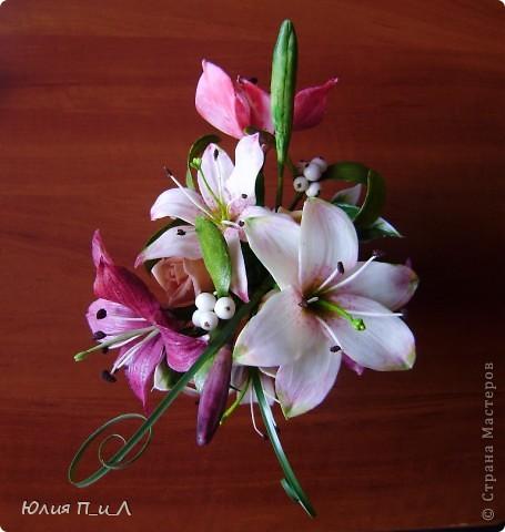 """Я сегодня без МК,но с """"идей""""))) Вот такой букет ждет мою cотрудницу сегодня ко дню рождения. ..Будет ей сюрприз… фото 11"""