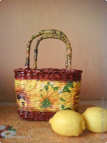 морилка оригано и лимон, декупаж, салфетка, лак фото 1