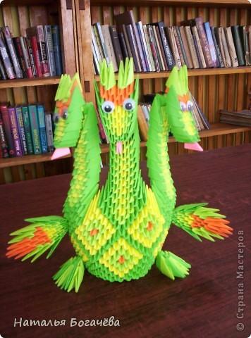 """Модульному оригами я научилась благодаря  Стране Мастеров, прекрасные мастер-класс. Заглянув однажды в эту страну, просто теперь там живу. """" Кораблик удачи"""" - такой он у меня получился фото 6"""