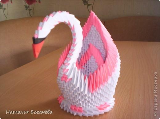 """Модульному оригами я научилась благодаря  Стране Мастеров, прекрасные мастер-класс. Заглянув однажды в эту страну, просто теперь там живу. """" Кораблик удачи"""" - такой он у меня получился фото 9"""