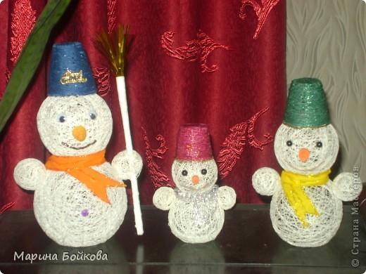 новогодние снеговички фото 1