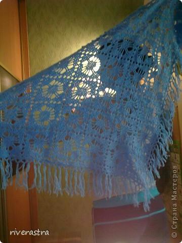 Хочу показать Вам шали которые вяжет моя бабуля! фото 3