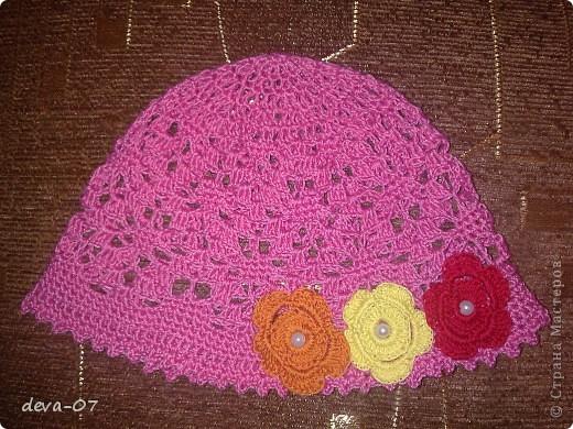 мои первые шапочки фото 3