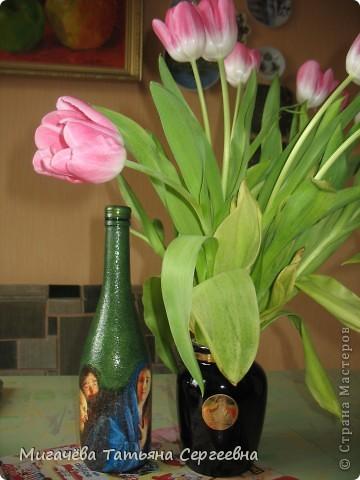 Бутылочка для святой воды в подарок. фото 1