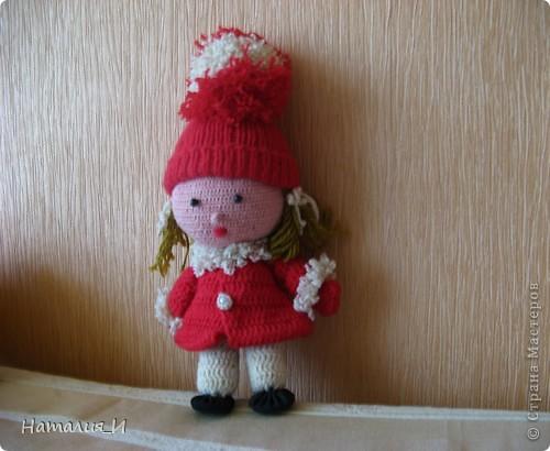 Эту куклу сделала давно, увидела в каком-то мультике. Если кому-то будет нужен совет- обращайтесь
