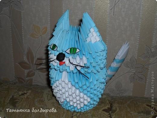 Такого милого котика сделала подруге в подарок. фото 1