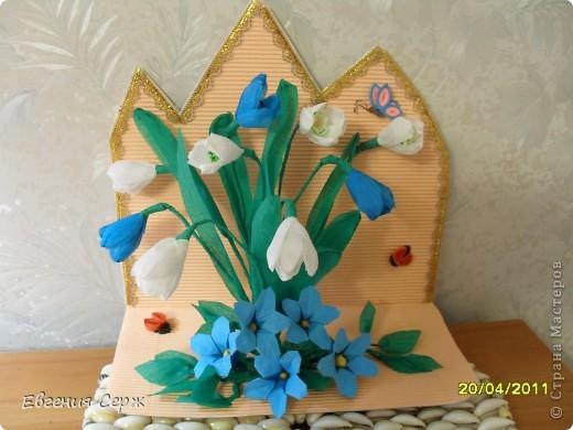 ой как хочется настоящих цветочков но весна пока не балует своей красотой фото 1