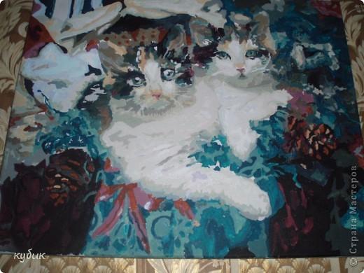 вот такую картину нарисовал Артуша нам на годовщину свадьбы.Огромное спасибо всем кто к нам заглянул!!!!!!!!!!!!!!!!!!!!!!!!Мы вас любим!!!!!!Картина выполнена на холсте