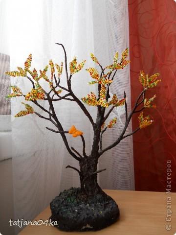 бисерные деревца фото 16