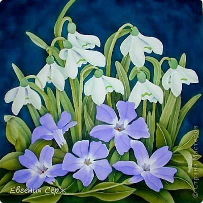 ой как хочется настоящих цветочков но весна пока не балует своей красотой фото 2