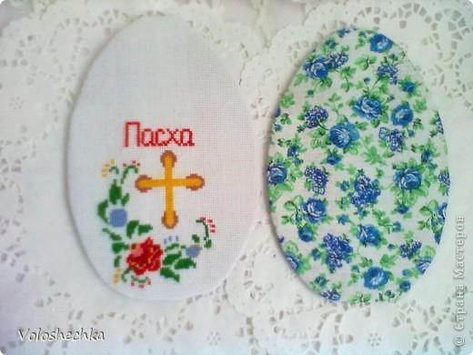 Увидела в блоге замечательной рукодельницы ElenaTafuni  https://stranamasterov.ru/node/178713  пинкип.  Очень понравился.Спасибо большое ей за идею. Захотелось сделать пинкип в форме яйца к празднику ПАСХИ. фото 4