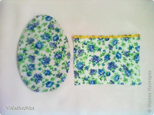 Увидела в блоге замечательной рукодельницы ElenaTafuni  http://stranamasterov.ru/node/178713  пинкип.  Очень понравился.Спасибо большое ей за идею. Захотелось сделать пинкип в форме яйца к празднику ПАСХИ. фото 5