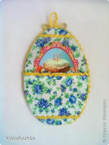Увидела в блоге замечательной рукодельницы ElenaTafuni  https://stranamasterov.ru/node/178713  пинкип.  Очень понравился.Спасибо большое ей за идею. Захотелось сделать пинкип в форме яйца к празднику ПАСХИ. фото 8