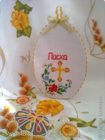 Увидела в блоге замечательной рукодельницы ElenaTafuni  https://stranamasterov.ru/node/178713  пинкип.  Очень понравился.Спасибо большое ей за идею. Захотелось сделать пинкип в форме яйца к празднику ПАСХИ. фото 1