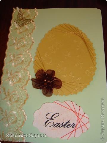 Первые открытки - можно будет использовать для любого праздника... фото 7