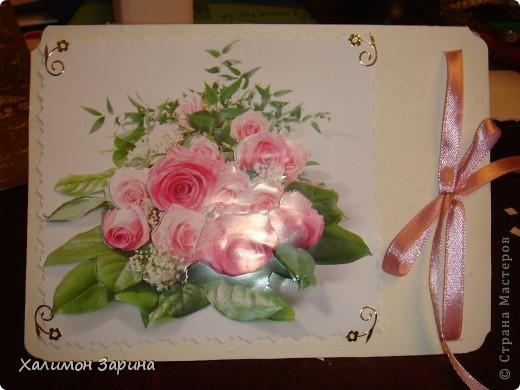 Первые открытки - можно будет использовать для любого праздника... фото 2