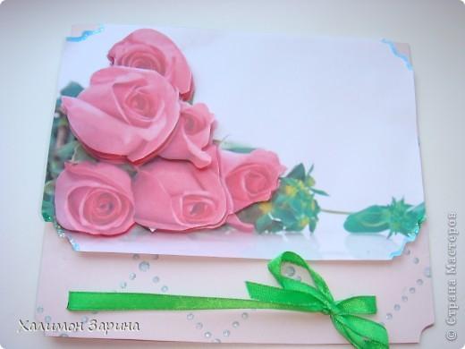 Первые открытки - можно будет использовать для любого праздника... фото 5