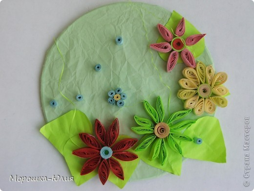 Эти цветочки сделала моя ученица Яркина Арина. фото 3
