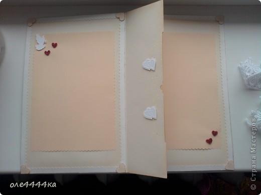 Вот такая свадебная открытка у меня получилась! фото 3
