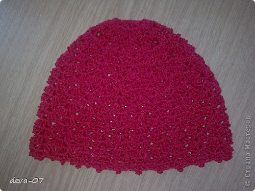мои первые шапочки фото 5