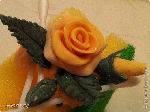 Бисквитный торт с заварным кремом) украшения из мастики фото 4