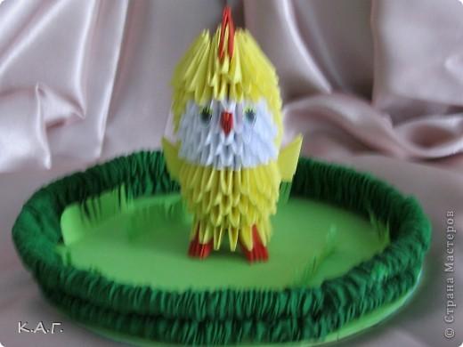 Пасхальное яйцо на подставке. фото 2