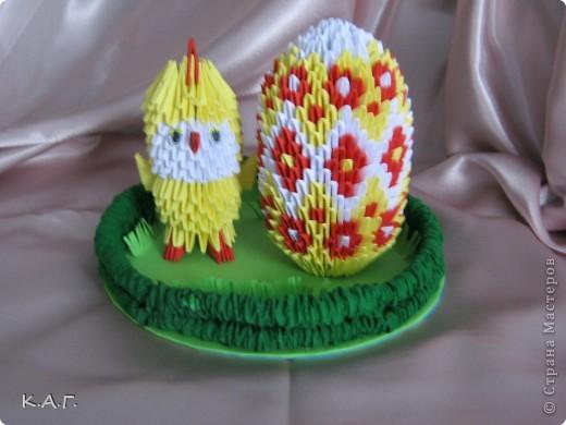 Пасхальное яйцо на подставке. фото 4