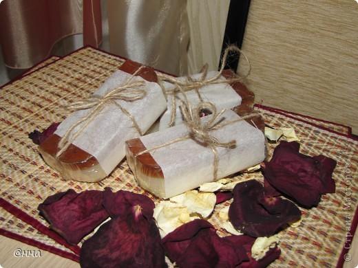 На этот раз необходимо было сварить мыло для сухой и чувствительной кожи. Вот что получилось.. Судить Вам, дорогие мастера!!))) фото 5