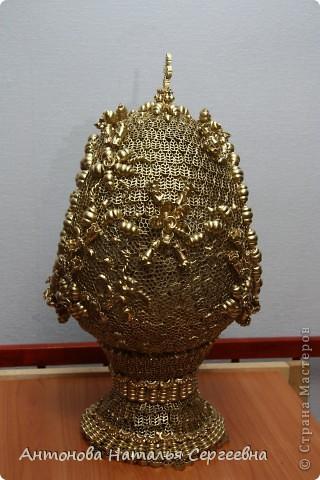 Пасхальное яйцо а-ля Фаберже фото 3