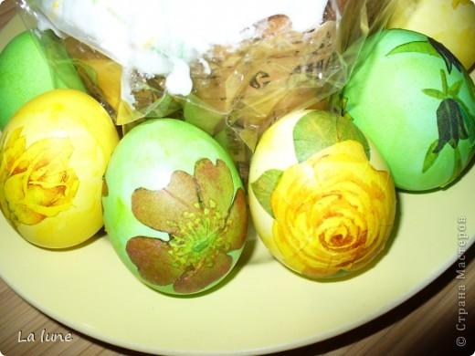 Моя первая работа в технике Декупаж. Решила проложить старт с декорирования яиц к Пасхе. фото 2